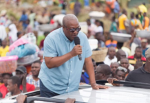 Economy is not doing well, fix it - Mahama charges Akufo-Addo