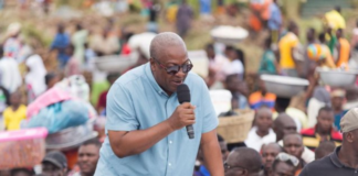 Economy is not doing well, fix it - Mahama charges Akufo-Addo