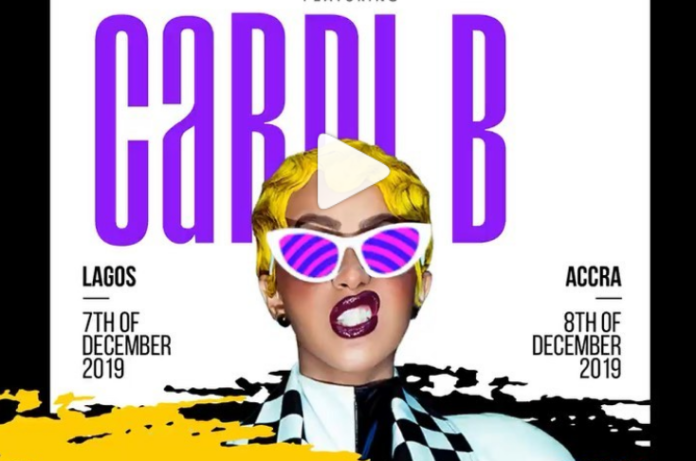 Ghana I'm coming – Cardi B endorses concert at Accra Sports Stadium