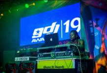 DJ Seihor performs at 2019 Ghana DJ Awards