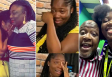 Kwame Sefa Kayi's daughter's surprise party
