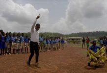 Ghana's dancing teacher