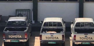 The disappeared vehicles back at RGD
