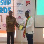 Joy News' Joojo Cobbinah received the award on behalf of the company during a lavish ceremony at the Accra City Hotel