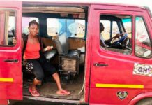 For five years, Adjeley and Armah have been working as driver and mate