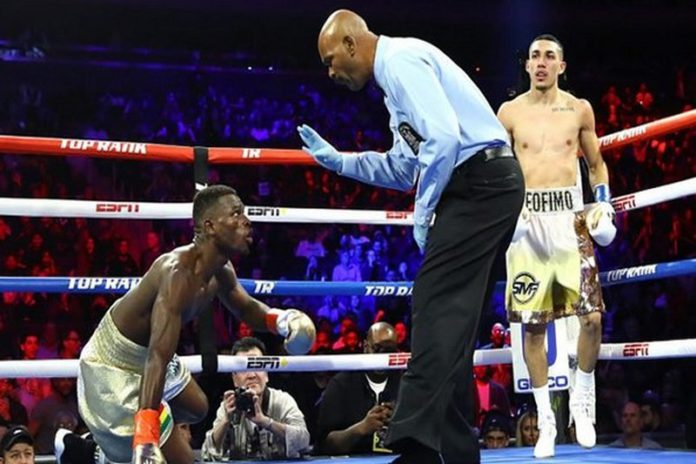 Richard Commey lost his IBF Lightweight title to American-Honduran boxing sensation, Teofimo Lopez, after suffering a Round 2 technical knockout.
