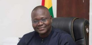 Deputy Chief of Staff, Mr Francis Asenso-Boakye