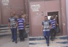Peter Ennin was freed after Christian Atsu paid for his court fine