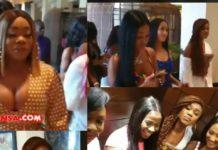 Moesha, Efia Odo, Becca, Afia Schwar, Hajia4real, others storm Kempinski hotel to meet Cardi B