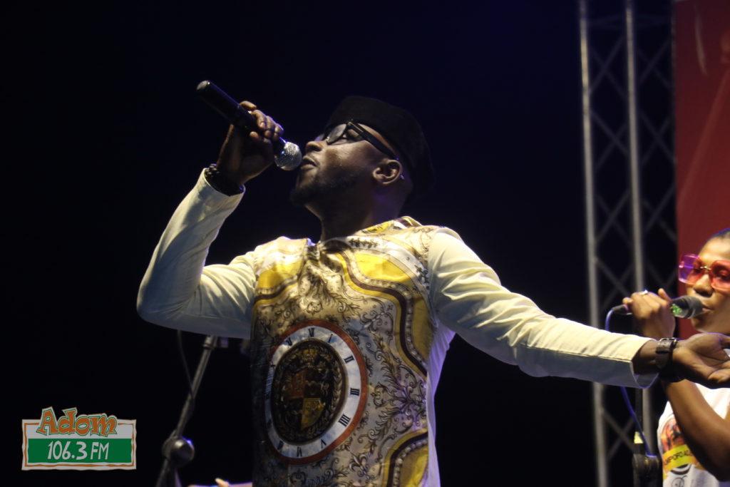 Kofi Nti performs at Adom Highlife Dance Fiesta 2019