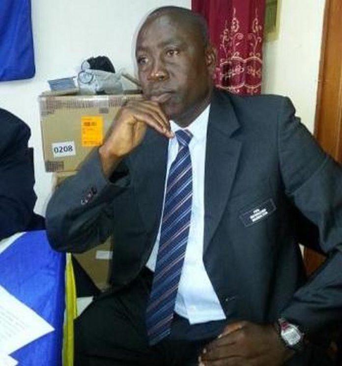 Retired FIFA referee, Joseph Wellington