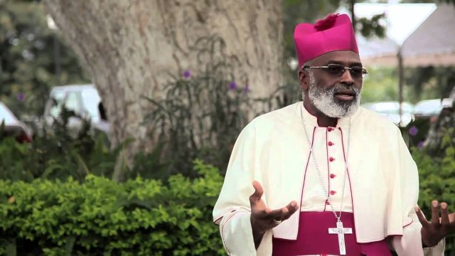 Most Rev. Charles Palmer-Buckle led a delegation of Catholic Bishops to the Jubilee House recently