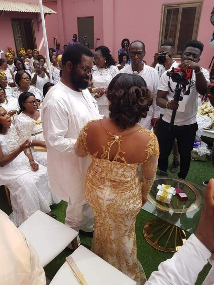 At a solemn ceremony at Mamprobi in Accra Thursday, December 4, 2019, Mr Vanderpuije engaged Cynthia Amerley Ayiku