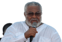 Jerry Rawlings.