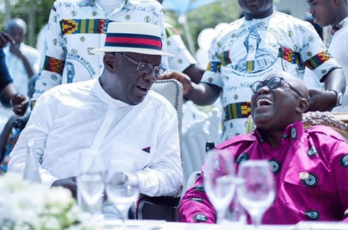 Akufo-Addo wishes Kufuor happy 81st birthday