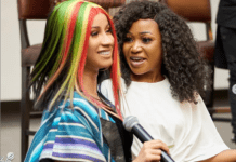 Cardi B and Akuapem Poloo (R) / Photo Credit: Instagram