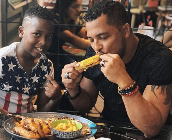 Van Vicker's son hopes to play for Barcelona, Black Stars