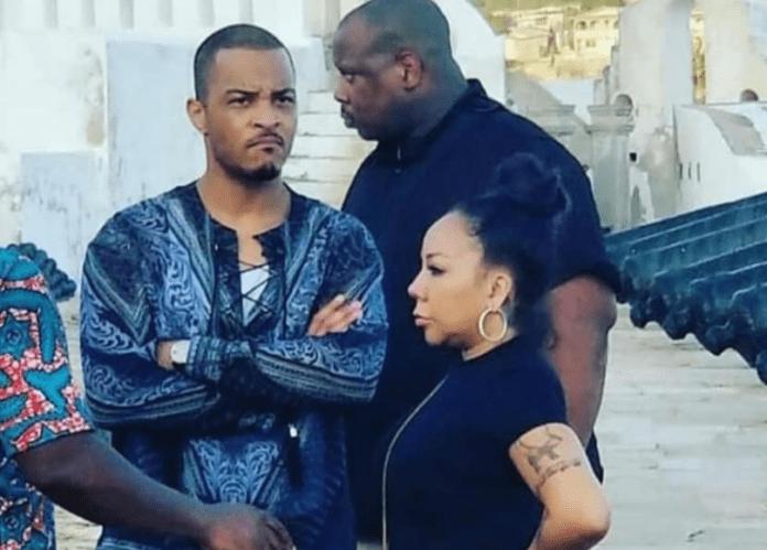 USA rapper TI, wife, shocked after Cape Coast slave castle visit