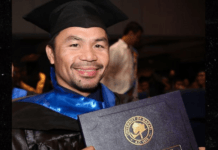 Manny Pacquiao graduates from University