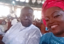 Nigerian actress, Funke Akindele, loses dad