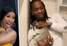 Cardi B gifts Offset refrigerator filled with $500K for his birthday [Video]