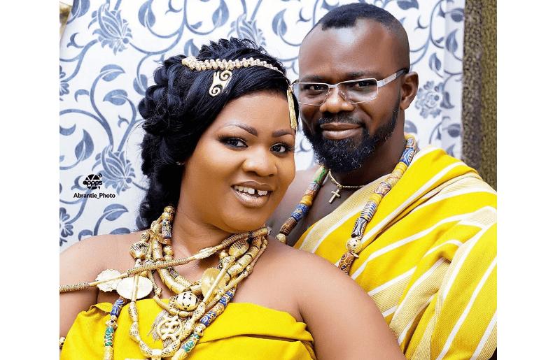 Obaapa Christy and husband
