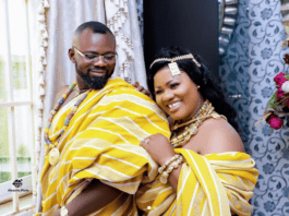 Obaapa Christy releases photos of traditional wedding on social media