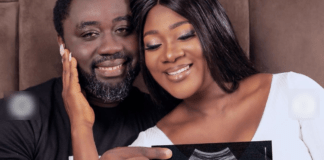 Mercy Johnson expects fourth child with husband, Mr Okoyie