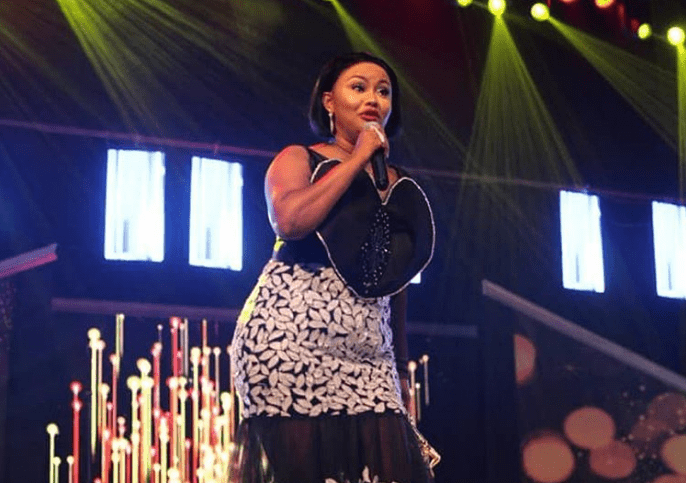 Nana Ama Mcbrown at Ghana Movie Awards 2019 / Photo Source: Instagram