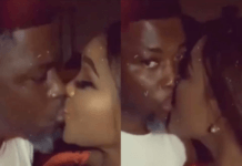 A Plus kisses wife to dispel breakup rumours