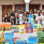 The children of the Save Them Young Orphanage home were filled with contentment and gratitude as they were presented with the items