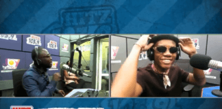 Kidi on Daybreak Hitz show with Andy Dosty
