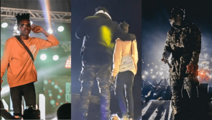 Medikal performs with Strongman at Welcome to Sowutuom concert