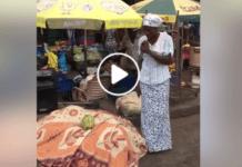 Female preacher starts sermon with Kofi Kinaata's song