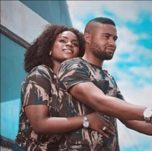 Gabriel Osemudiamen and his wife, Ivie /  Nigerian soldier dies two weeks after his wedding