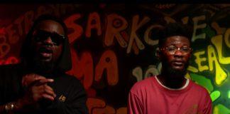 File Photo: Sarkodie and Lyrical Joe in Betrayal music video