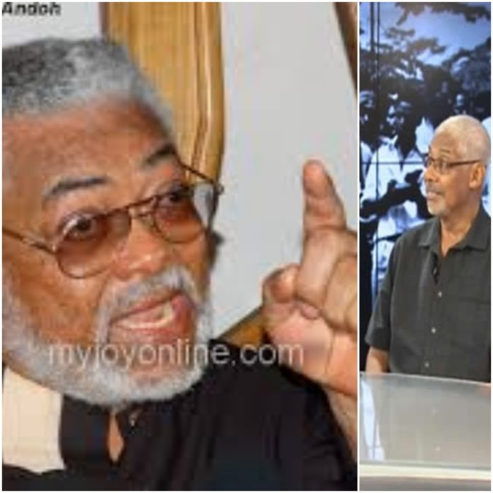 Scars of the Revolution: Rawlings angry with Major Rida
