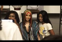 Cardi B could not hide her excitement for the gifts and she thanked them for them