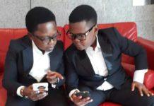 Aki (L) and Popo (R)