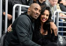 Kobe Bryant and his wife Vanessa