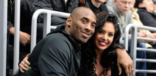 Kobe Bryant and his wife Vanessa