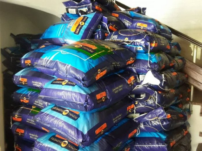 Ghana rice grown by local farmers