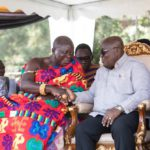 President Akufo-Addo with Otumfuo Osei Tutu II