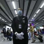 Hong Kong airport is health screening passengers arriving from Wuhan