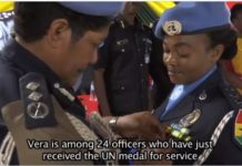 police officers get UN medal