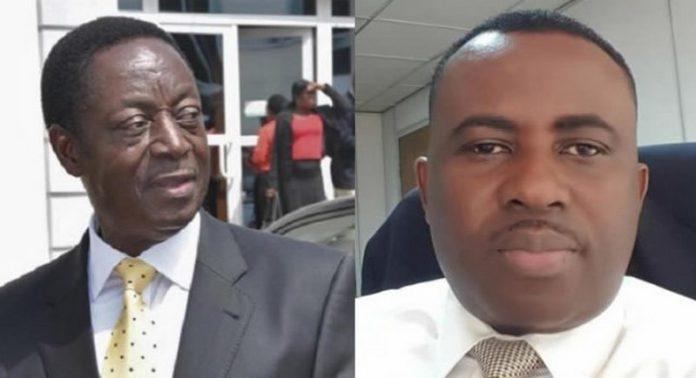 L-R: Dr. Kwabena Duffuor (Snr) and Dr. Johnson Asiama.
