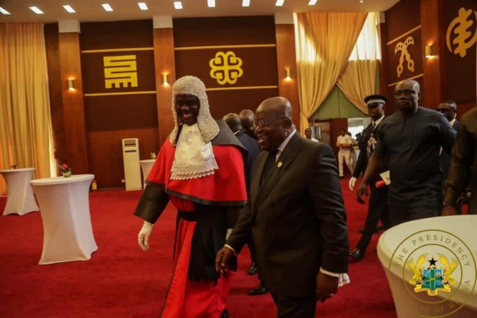 Akufo-Addo and chief justice