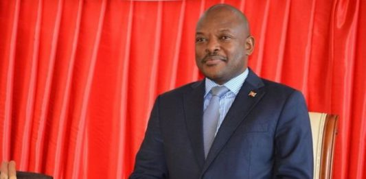 """The lawmakers proposed Mr Nkurunziza be elevated to the title of """"supreme leader"""" after he steps down in May"""