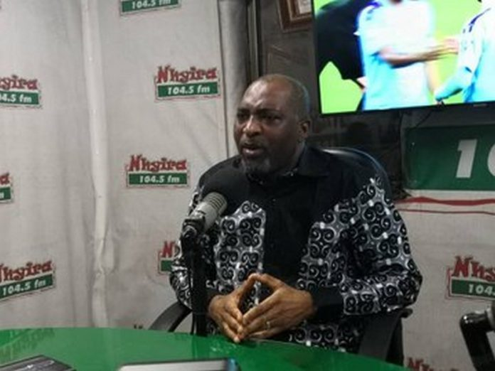 MP for the Asawase Constituency Muntaka Mubarack