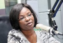 National Coordinator for the One-District-One-Factory (1D1F) policy initiative, Gifty Ohene Konadu,